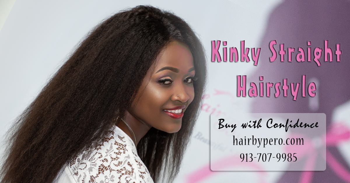 Why Choose Kinky Straight Hairstyle